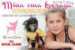 """Fotokonkurss """"Mina oma koeraga"""""""