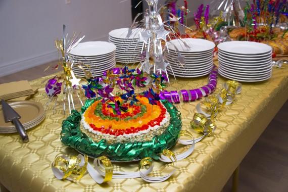 Uue aasta Karnevali tort koertele