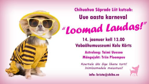 """Uue aasta karneval """"Loomad laudas!"""""""